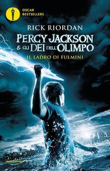 Il ladro di fulmini. Percy Jackson e gli dei dell'Olimpo. Vol. 1 - Rick Riordan - copertina