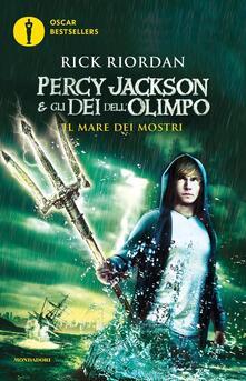 Il mare dei mostri. Percy Jackson e gli dei dell'Olimpo. Vol. 2 - Rick Riordan - copertina