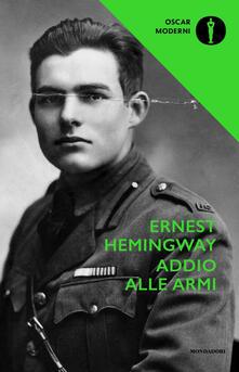 Addio alle armi - Ernest Hemingway - copertina