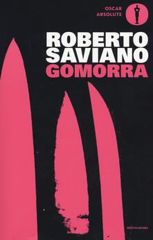 Gomorra. Viaggio nell'impero economico e nel sogno di dominio della camorra - Roberto Saviano - copertina