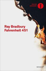 Fahrenheit 451 - Ray Bradbury - copertina