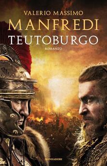 Teutoburgo - Valerio Massimo Manfredi - copertina