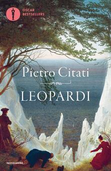 Leopardi - Pietro Citati - copertina