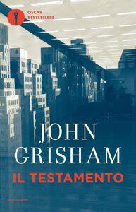 Libro Il testamento John Grisham