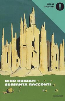 Sessanta racconti - Dino Buzzati - copertina