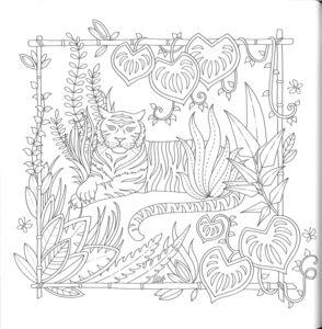 Libro La giungla magica Johanna Basford 1