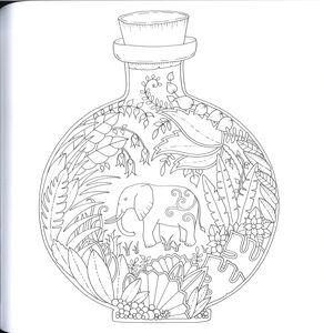 Libro La giungla magica Johanna Basford 4