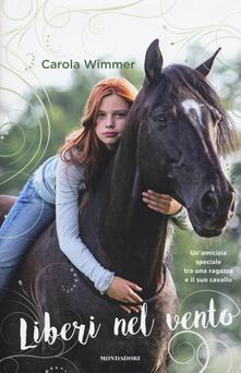 Liberi nel vento - Carola Wimmer - copertina