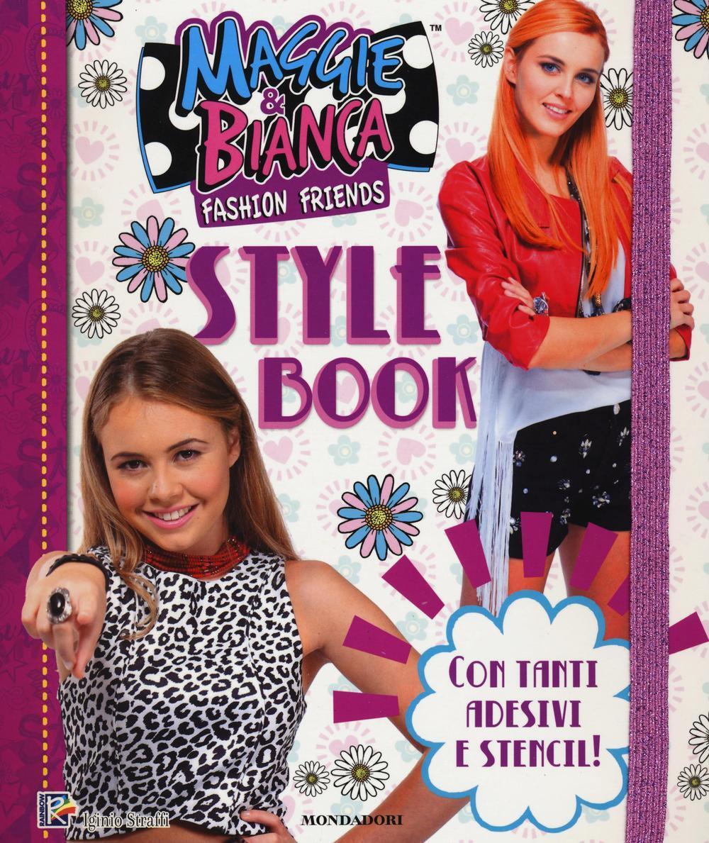Libro Con book Bianca Adesivi amp; Style Maggie Fashion Friends x8YwOHqO