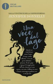 Una voce dal lago - Jennifer Donnelly - copertina