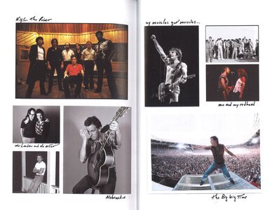 Libro Born to run Bruce Springsteen 1