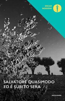 Ed è subito sera - Salvatore Quasimodo - copertina