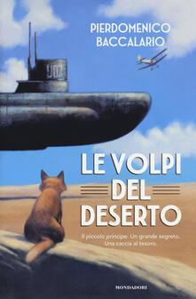 Le volpi del deserto - Pierdomenico Baccalario - copertina