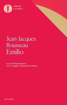 Emilio - Jean-Jacques Rousseau - copertina