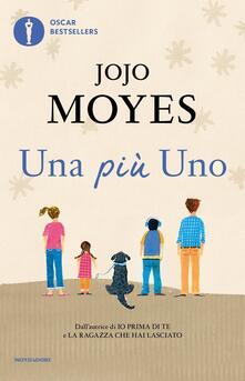 Una più uno - Jojo Moyes - copertina