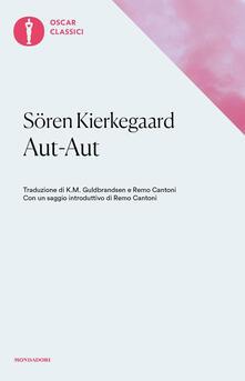 Aut-aut - Sören Kierkegaard - copertina
