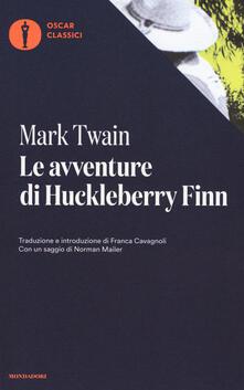 Le avventure di Huckleberry Finn - Mark Twain - copertina