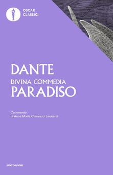La Divina Commedia. Paradiso - Dante Alighieri - copertina