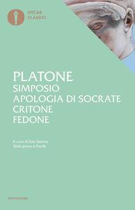 Foto Cover di Simposio-Apologia di Socrate-Critone-Fedone, Libro di Platone, edito da Mondadori