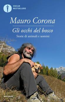 Gli occhi del bosco - Mauro Corona - copertina