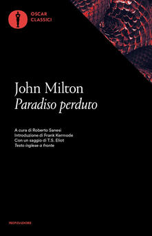 Paradiso perduto. Testo inglese a fronte - John Milton - copertina