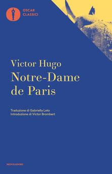 Notre Dame de Paris - Victor Hugo - copertina