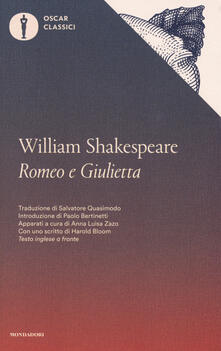 Romeo e Giulietta. Testo inglese a fronte - William Shakespeare - copertina