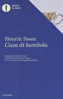 Casa di bambola - Henrik Ibsen - copertina