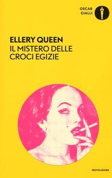 Il mistero delle croci egizie - Ellery Queen - copertina