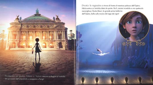 Libro Ballerina. La storia con le immagini del film. Ediz. a colori Anne-Marie Pol 1