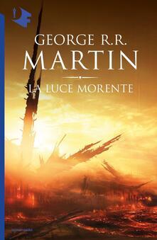La luce morente - George R. R. Martin - copertina