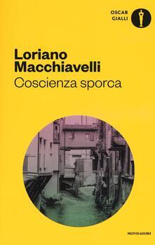 Coscienza sporca - Loriano Macchiavelli - copertina