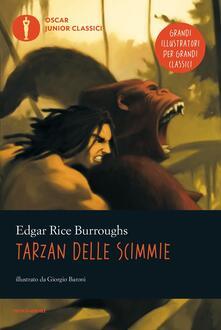 Tarzan delle scimmie - Edgar R. Burroughs - copertina