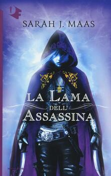 La lama dell'assassina - Sarah J. Maas - copertina