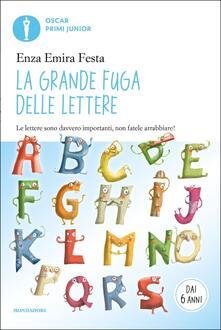 La grande fuga delle lettere - Enza Emira Festa - copertina