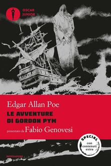Le avventure di Gordon Pym - Edgar Allan Poe - copertina
