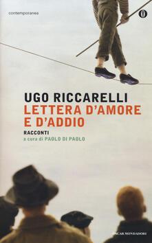 Lettera d'amore e d'addio - Ugo Riccarelli - copertina