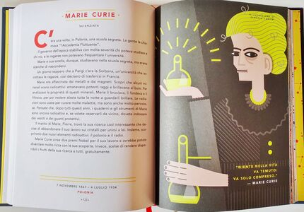 Libro Storie della buonanotte per bambine ribelli. 100 vite di donne straordinarie. Ediz. a colori Francesca Cavallo , Elena Favilli 1