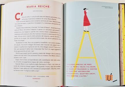 Storie della buonanotte per bambine ribelli. 100 vite di donne straordinarie. Ediz. a colori - Francesca Cavallo,Elena Favilli - 5