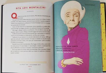 Storie della buonanotte per bambine ribelli. 100 vite di donne straordinarie. Ediz. a colori - Francesca Cavallo,Elena Favilli - 6