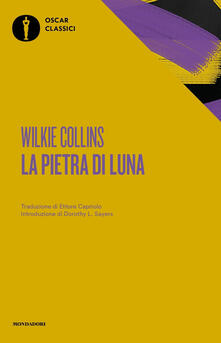 La pietra di luna - Wilkie Collins - copertina