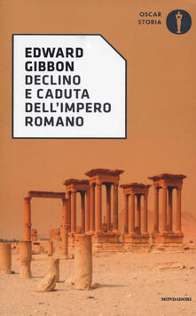 Declino e caduta dell'impero romano - Edward Gibbon - copertina