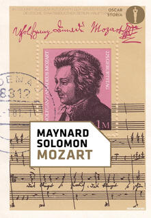 Mozart - Maynard Solomon - copertina