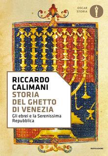 Storia del ghetto di Venezia - Riccardo Calimani - copertina