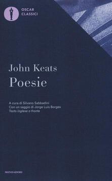 Poesie. Testo inglese a fronte - John Keats - copertina