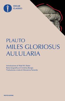 Criticalwinenotav.it Aulularia-Miles gloriosus. Testo latino a fronte Image