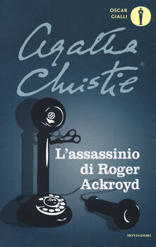 L' assassinio di Roger Ackroyd - Agatha Christie - copertina