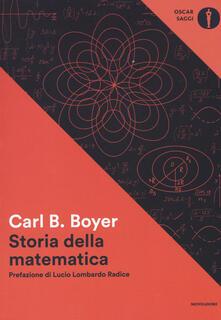 Storia della matematica - Carl B. Boyer - copertina