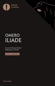 Iliade. Testo greco a fronte - Omero - copertina