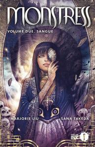 Monstress. Vol. 2: Sangue - Marjorie Liu,Sana Takeda - copertina